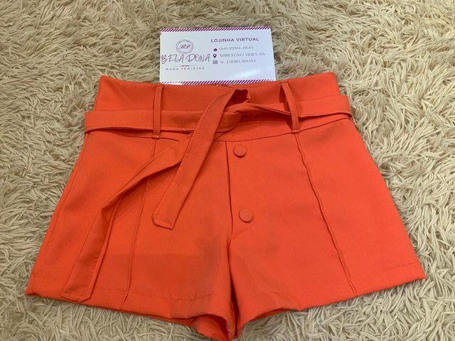 Shorts em alfaiataria - Foto 2