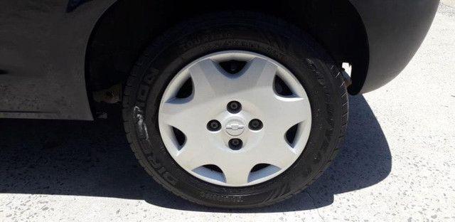 Chevrolet Celta 1.0 8V 2004 Azul Confira ! - Foto 7
