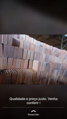 Caminhão fechado 7 mil blocos cerâmicos FRETE GRÁTIS