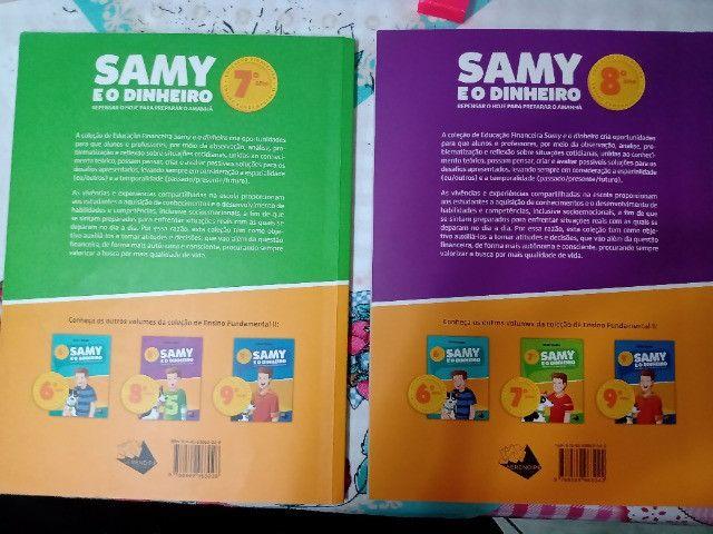Livros Sammy e o Dinheiro 7° Ano e 8° Ano - Foto 2