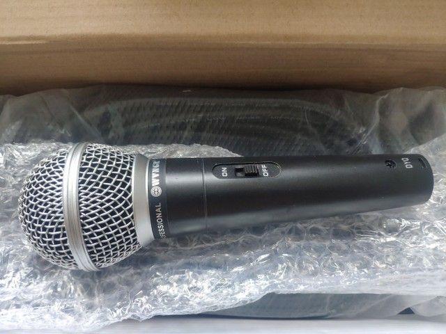 Microfones novos, na caixa, nunca usados - Foto 2