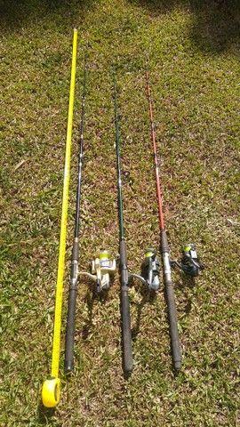 Varas de pesca. - Foto 3