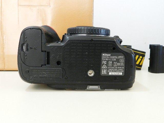 Câmera Profissional Usada Nikon D610  - Foto 4
