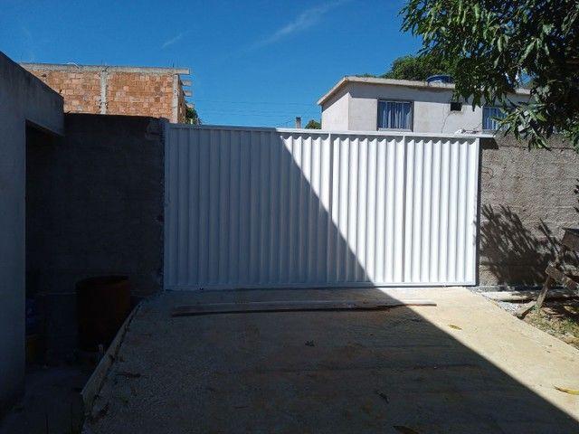 Portões galvonizado faça seu orçamento - Foto 2
