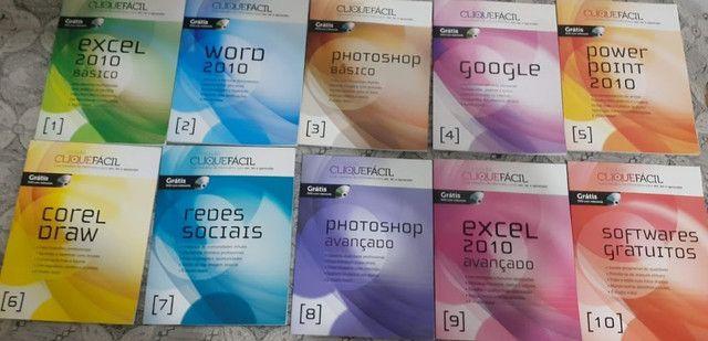 Coleção Clique Fácil + 10 Cds - 10 Volumes