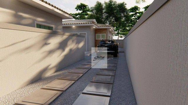 Excelente casa linear com 3 dormitórios à venda, 70 m² por R$ 310.000 - Enseada das Gaivot - Foto 11