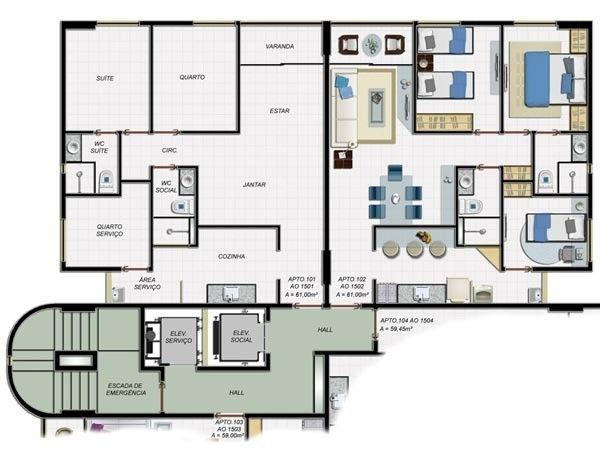 M&M-Oportunidade de 03 quartos na Madalena - Edf. Polaris - Últimas unidades - Foto 2