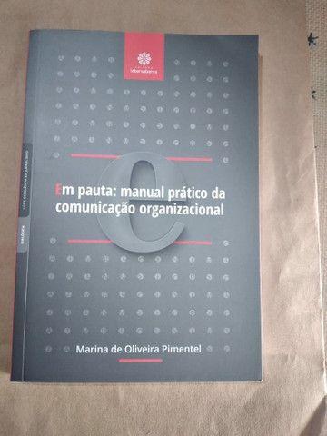 Livro - Em pauta: Manual da Comunicação Organizacional  - Foto 2