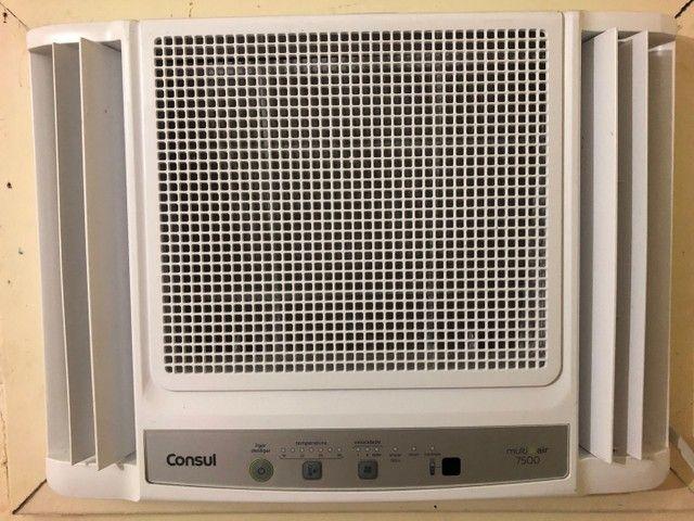 Ar condicionado de janela cônsul 7500 btus com controle remoto frio