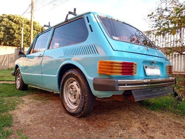 Brasília 80/80 1.6 top restaurada, linda mesmo - Foto 5