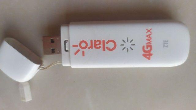Modem 4G Max claro móvel entrada p antena rural  - Foto 4