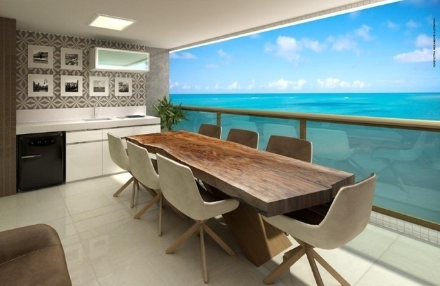 BR_LM - Lançamento na Beira Mar de Casa Caida - 144m² | Varanda Gourmet Holanda Prime - Foto 3