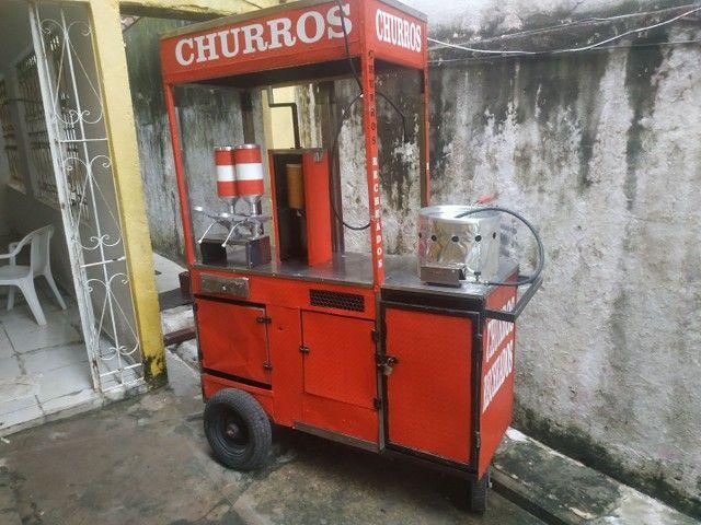 CARROCINHA DE CHURROS - Foto 6
