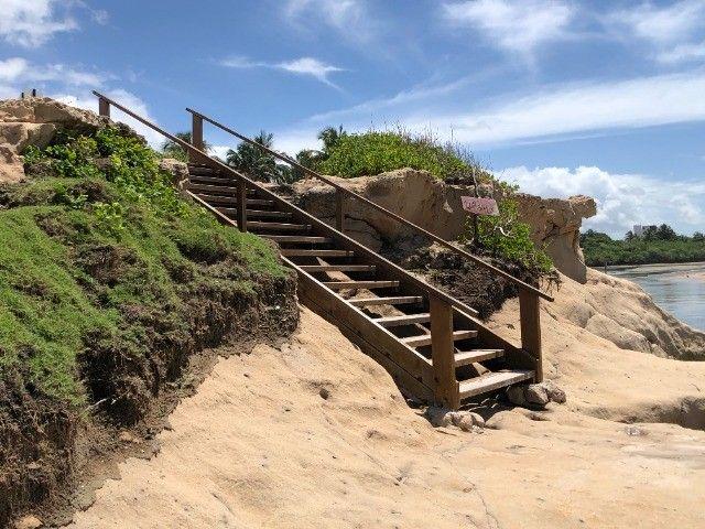 Terreno na praia Tabatinga II - A 150 metros do Mar - Posição Sul - Lote - Foto 12
