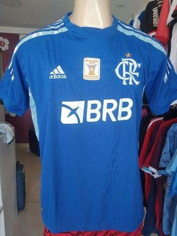 Camisa Flamengo Exclusiva Azul 2021