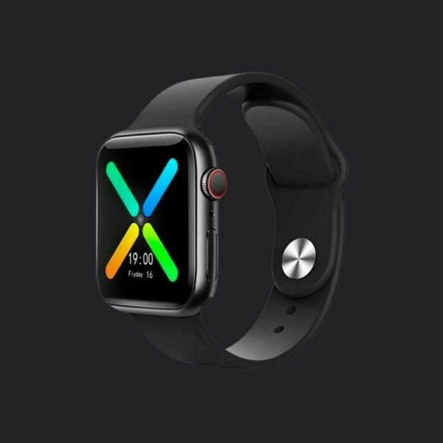 Promoção Dia Dos Pais Relógio Inteligente Smartwatch Iwo X8 + Película De Brinde  - Foto 2