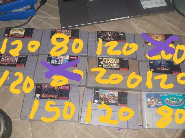 jogos da nintendo e Sony  - Foto 2