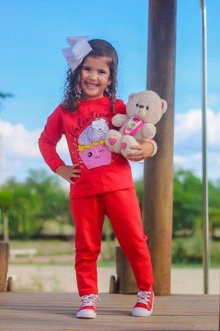 Pijama em moletinho bem quentinho ATACADO ou VAREJO  - Foto 2