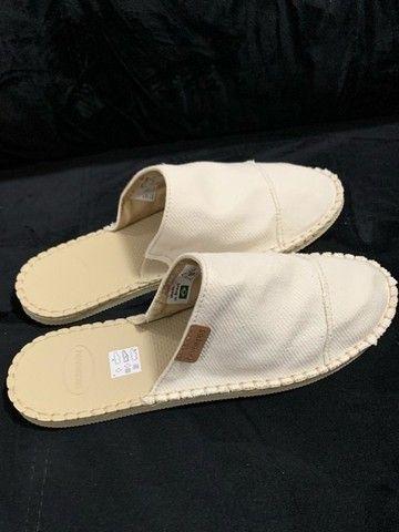 sandália / chinelo / spadrille / alpagata tipo mule das havaianas (original) - Foto 3