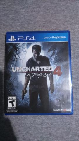 Jogo Ps4 Unchearted 4