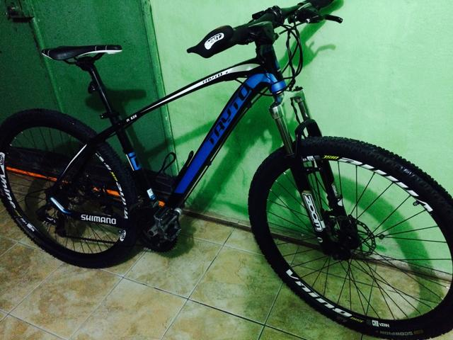 Bike MTB linda top kit shimano