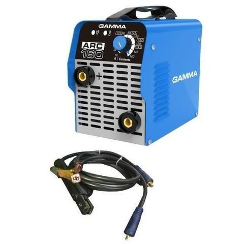 Inversora de Solda Eletrodo 160A G3472Br2 Gamma - 220V (novo na caixa com garantia!)