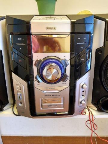 Mini System Hi-Fi c/MP3 Philips