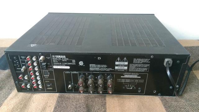 receiver yamaha r s500 udio tv v deo e fotografia. Black Bedroom Furniture Sets. Home Design Ideas