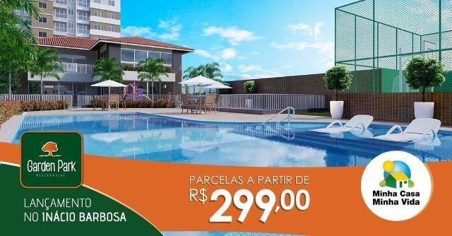Garden Park - Lançamento no DIA - 2 e 3 qtos c/ varanda - parcelas a partir de R 299,00