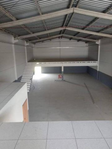 Galpão para alugar, 313 m² por r$ 3.500,00/mês - itajuba - barra velha/sc - Foto 11