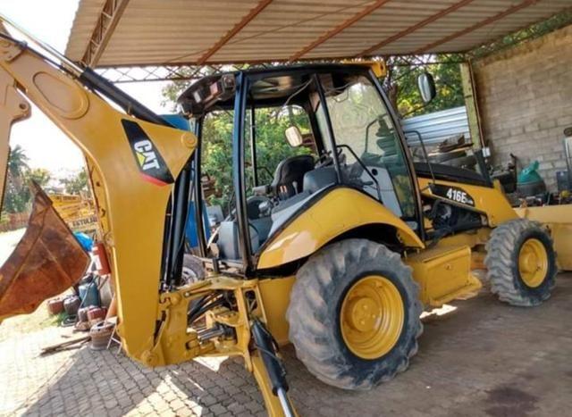 Escavadeira Cat 416e 4x4 - Foto 3
