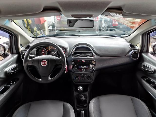 Fiat Punto Attractive Prata 2013 Completo - Foto 2