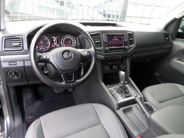 VW Amarok Trendline Diesel Turbo 2018 4x4 Automática (s10 hilux triton ranger) - Foto 10