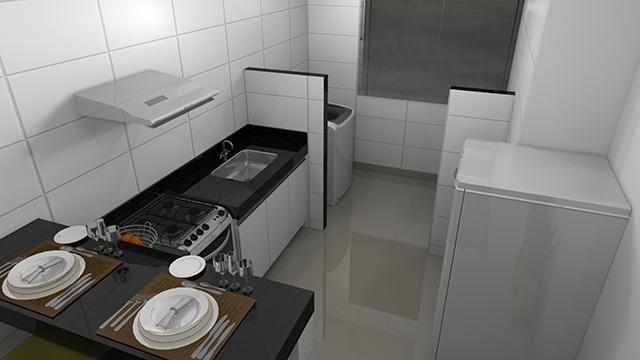 Apartamento à venda com 2 dormitórios em Jardim candelaria, Divinopolis cod:11443 - Foto 6