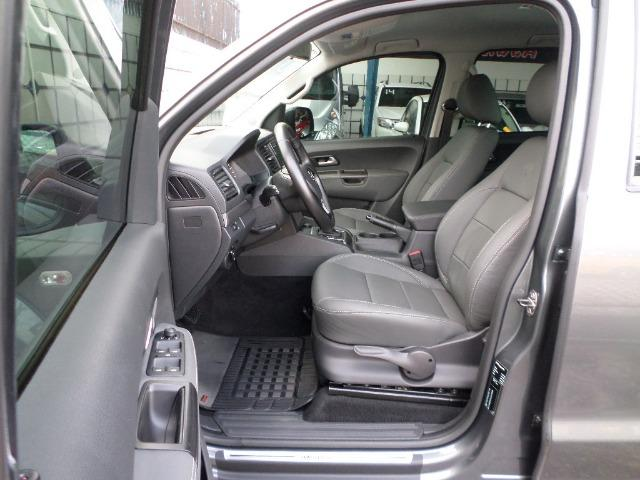 VW Amarok Trendline Diesel Turbo 2018 4x4 Automática (s10 hilux triton ranger) - Foto 12