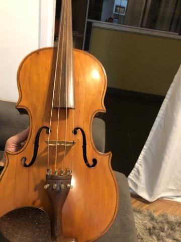 Viola de arco feita a mão, excelente instrumento (OPORTUNIDADE)