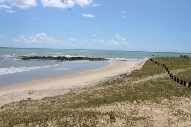 Excelente terreno beira mar na praia de Monte Alegre - TE0019 - Foto 12