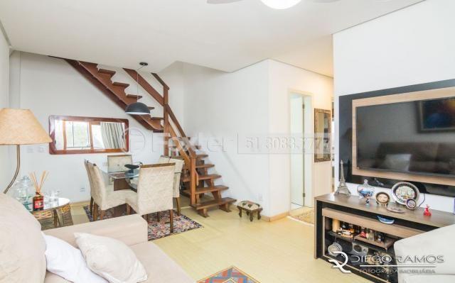 Cobertura à venda com 3 dormitórios em Camaquã, Porto alegre cod:189584