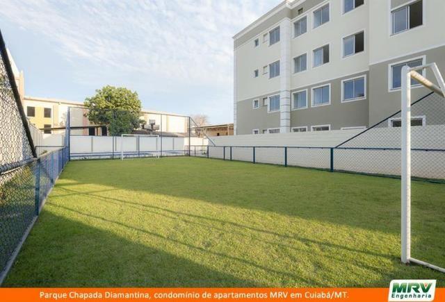 RARO! Apartamento 2 Quartos com Jardim Privativo. Parque Chapada Diamantina MRV - Foto 9