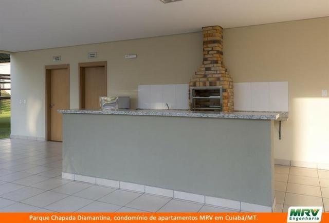 RARO! Apartamento 2 Quartos com Jardim Privativo. Parque Chapada Diamantina MRV - Foto 6