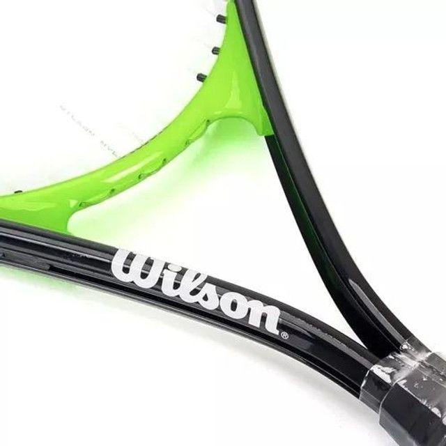 Raquete de tênis Wilson advantage xl 2 - Foto 3