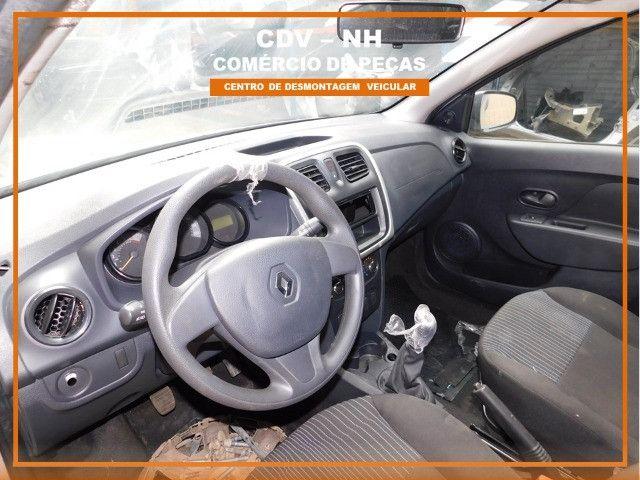 Sucata Renault Logan 1.0 82cv Flex 2018 (Somente Peças) - Foto 9
