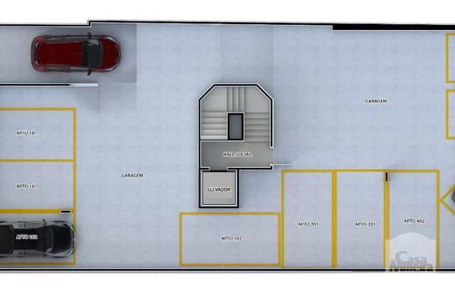 Apartamento à venda com 2 dormitórios em Caiçaras, Belo horizonte cod:268077 - Foto 6