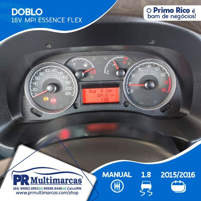 Fiat Doblo Essence 07Lug 1.8 2016 - Foto 8
