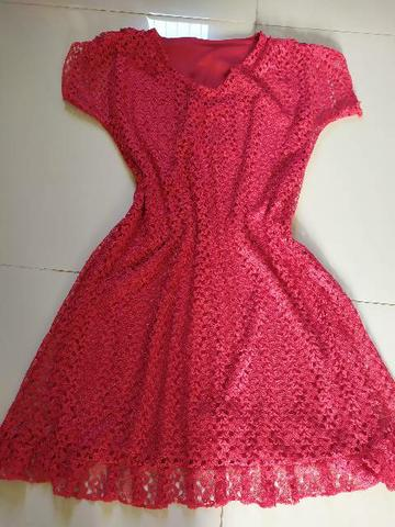 Vestido vermelho - Foto 3