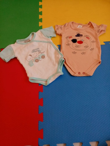 Conjunto bodies infantil masculino