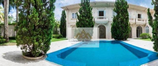 Sobrado com 5 dormitórios para alugar, 1120 m² por R$ 25.000,00/mês - Condomínio Country V - Foto 2