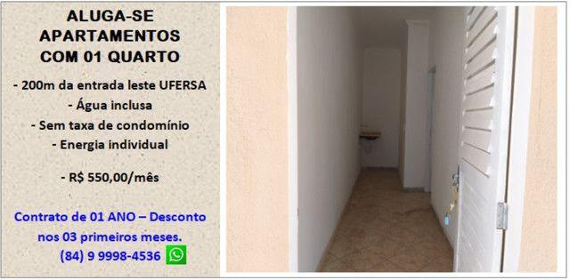 Aluga-se apartamentos próximo a Ufersa - Costa e Silva Mossoró - Foto 3
