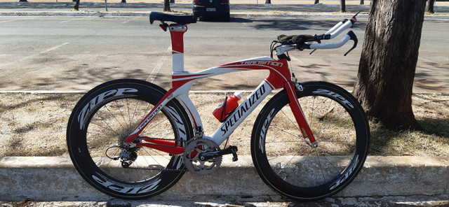 Bike TT Triathlon Specialized Transition Pro full carbono - Foto 2