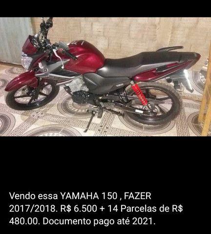 Moto Fazer 150/ 2017